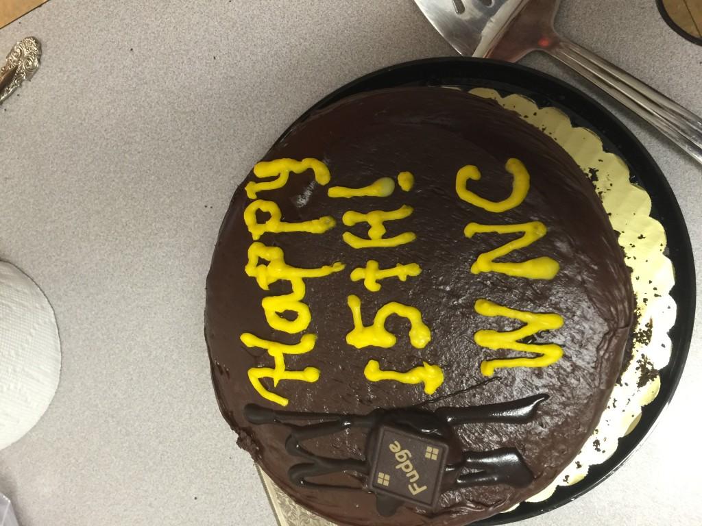 wnc 15 year celebration cake